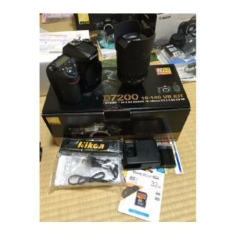 Kamera Nikon D7200 Kit lensa 18-55vr