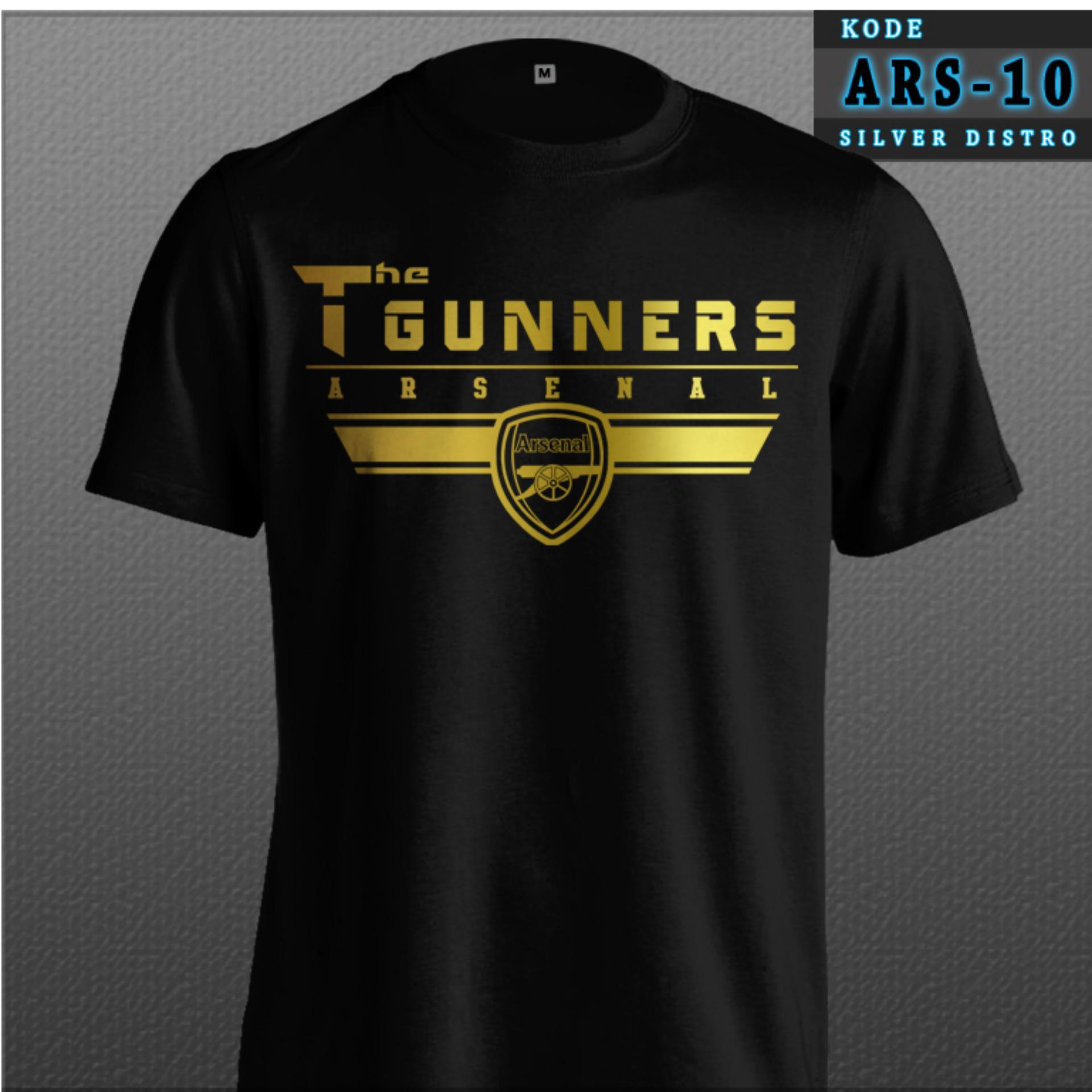 Fitur Kaos Arsenal The Gunners Victory Through Harmony Bahan Baju 02 Bola Distro Hitam Terbaru Bukan Jersey Ars 10