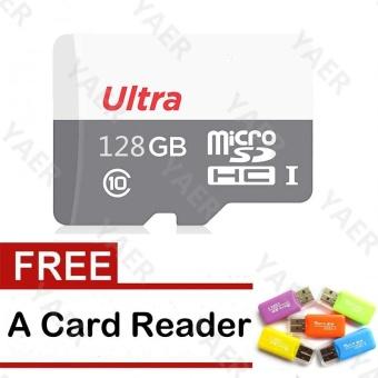 Gambar Kartu Micro Sd 128GB kartu TF untuk ponsel pintar Ponsel Mp3 Mp4Camera With Card Reader