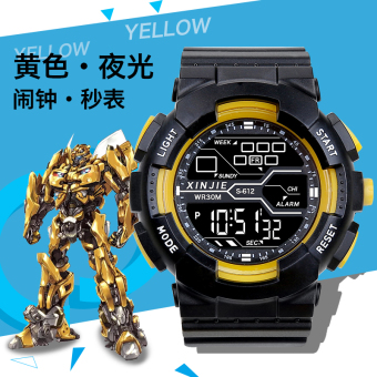 Kebugaran cepat besar SMP muda digital jam tangan