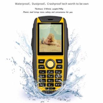Ken Mobile W3 Pro - Waterproof - Dual SIM - Yellow