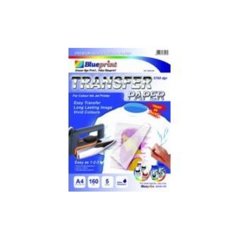 Kertas Transfer Paper Blueprint A4 - Kaos Putih terlaris