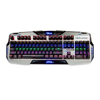 Keyboard Gaming E-Blue Mazer OPS XL Mechanical Backlit EKM729 -Silver