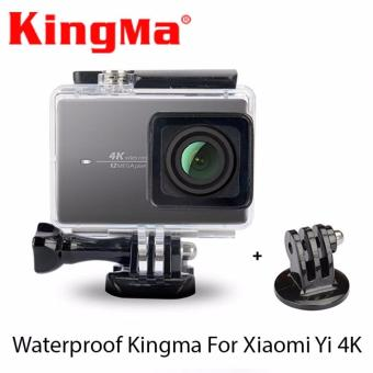 Harga Kingma Original WaterProof Casing for Xiaomi Yi 2 4K Action Camera- Black