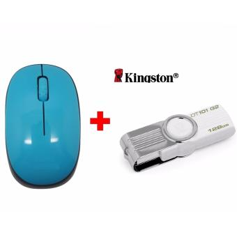 Harga Kingston Flash Disk 128GB + Gratis Mouse Wireless