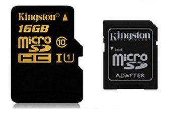 harga Kingston MicroSDHC UHS-1 Class 10 - 90MBps - 16GB Lazada.co.id