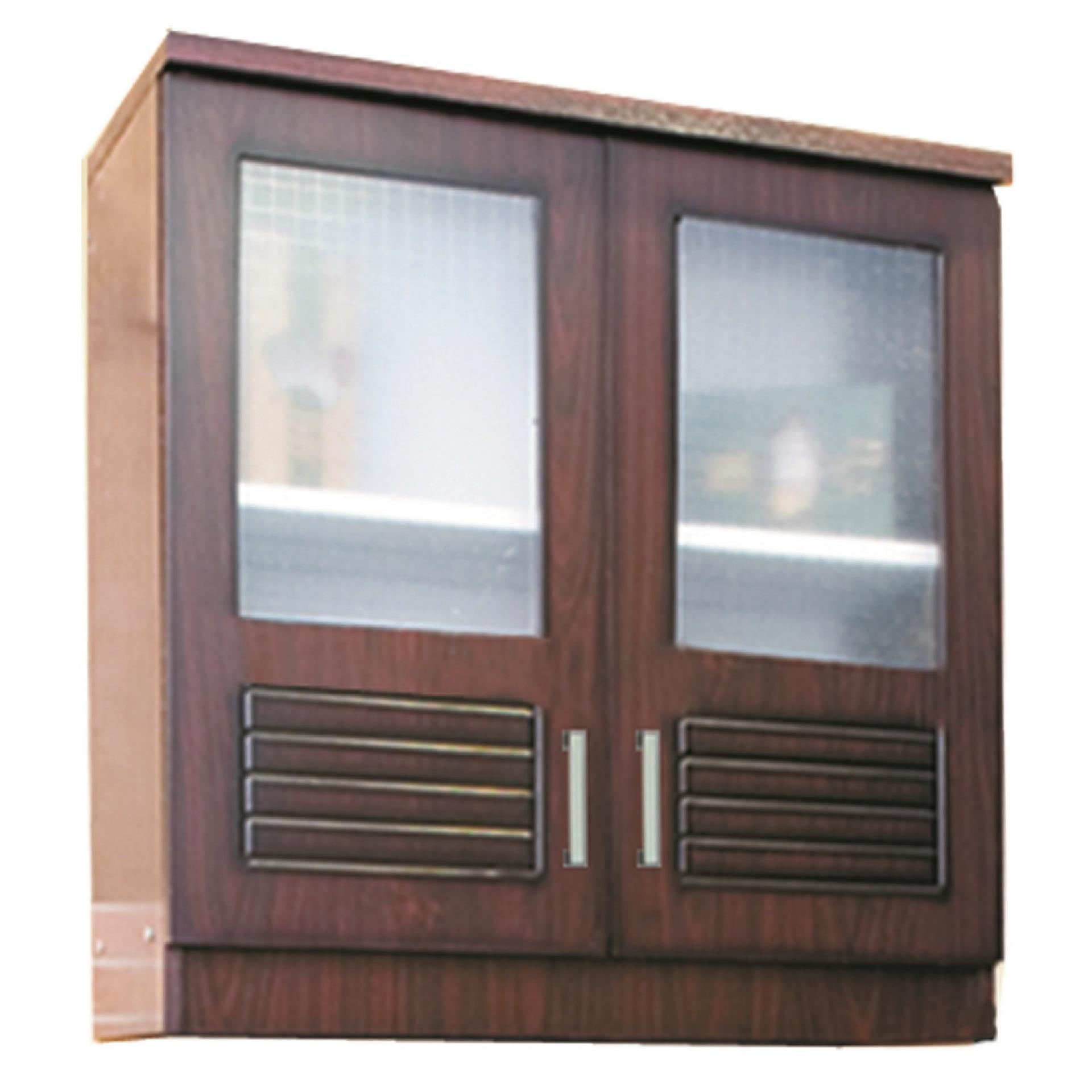Cek Harga Baru Kirana Kitchen Set Lemari Atas 2 Pintu Kaca Uk 902