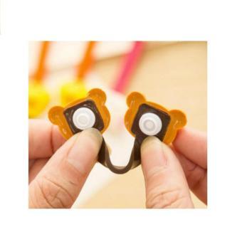 Klip Kabel Pengikat /Penggulung Kabel Rilakkuma Cord Clip Cable Holder - 3 .