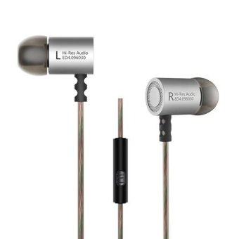 Knowledge Zenith HiFi Metal In-ear Earphones Heavy Bass 9.6mm Driver with Mic -