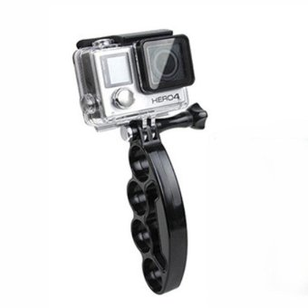Knuckles Handheld Selfie Holder Mount + Screw for GoPro HERO4/3+/3/2/1/SJ4000/SJ5000/SJ6000/Xiaomi Yi - intl