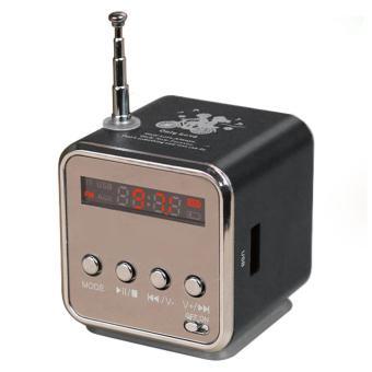 Kobwa Portable Micro SD TF USB Mini Stereo Speaker Musik Player FM Radio PC MP3