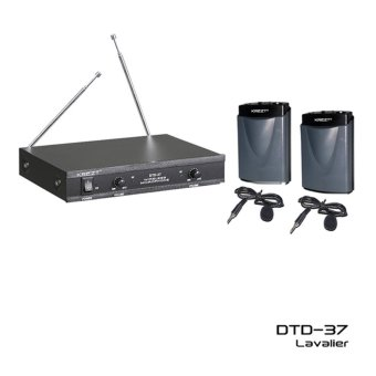 Krezt Microphone Wireless DTD 37 LL (Mic / Mik Jepit / Clip On /Mic Imam)