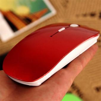 Kualitas Tinggi 2, 4G mouse nirkabel Bluetooth untuk laptopkomputer PC Desktop (