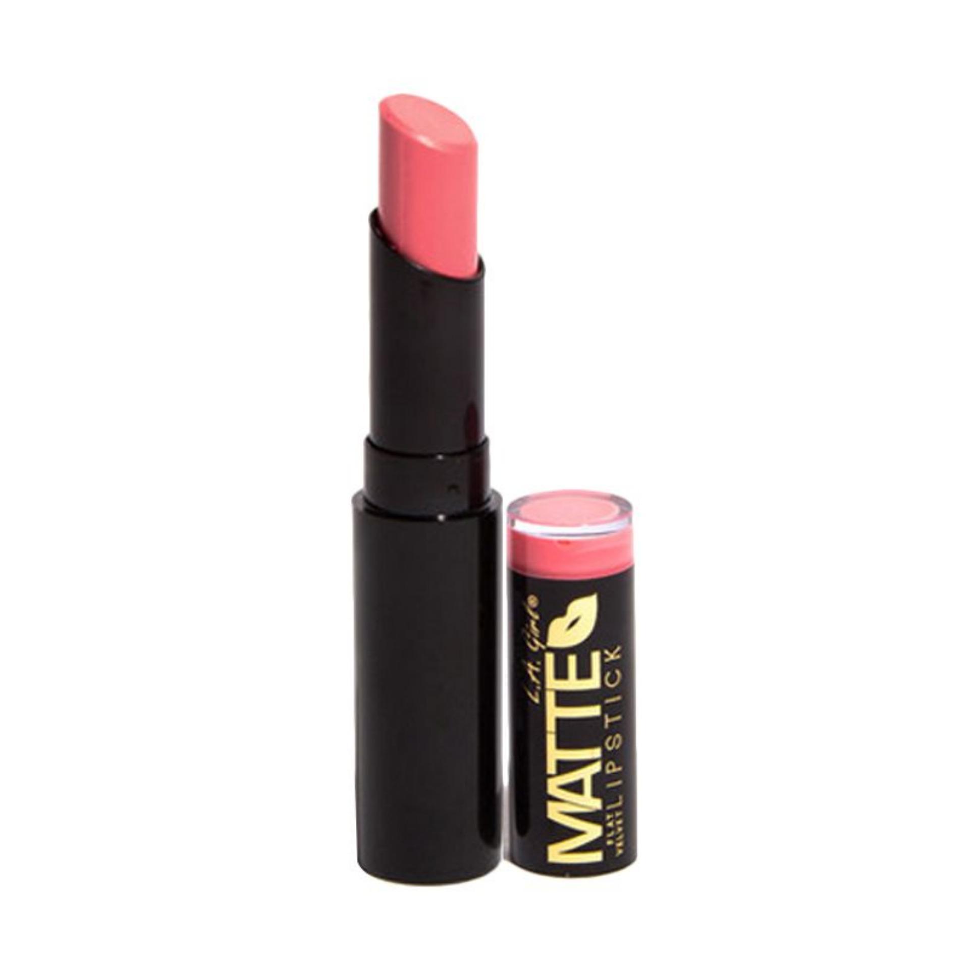 Kehebatan La Colors Pout Matte Lipgloss Sweet Lips Dan Harga Update Girl Flat Velvet Lip Revenge Warna Pigmented Tahan Lama Lipstik