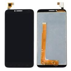 LCD Display dengan Layar Sentuh Digitizer Assemblely untuk Idol 2 II OT 6037Y 6037 K + 3 M Tape + Membuka Alat Perbaikan + Lem-Intl