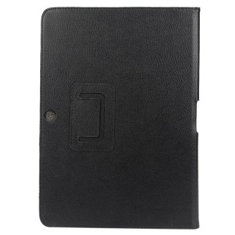 Gambar Produk Leather Case Cover Stand For Samsung Galaxy Tab 2 10.1 P5100 P5110Black - intl