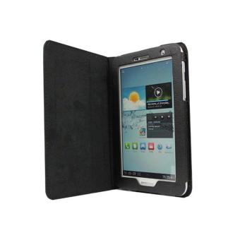 Leather Case for 7-Inch Samsung Galaxy Tab 2 P3100/P3110 (Black) - 3