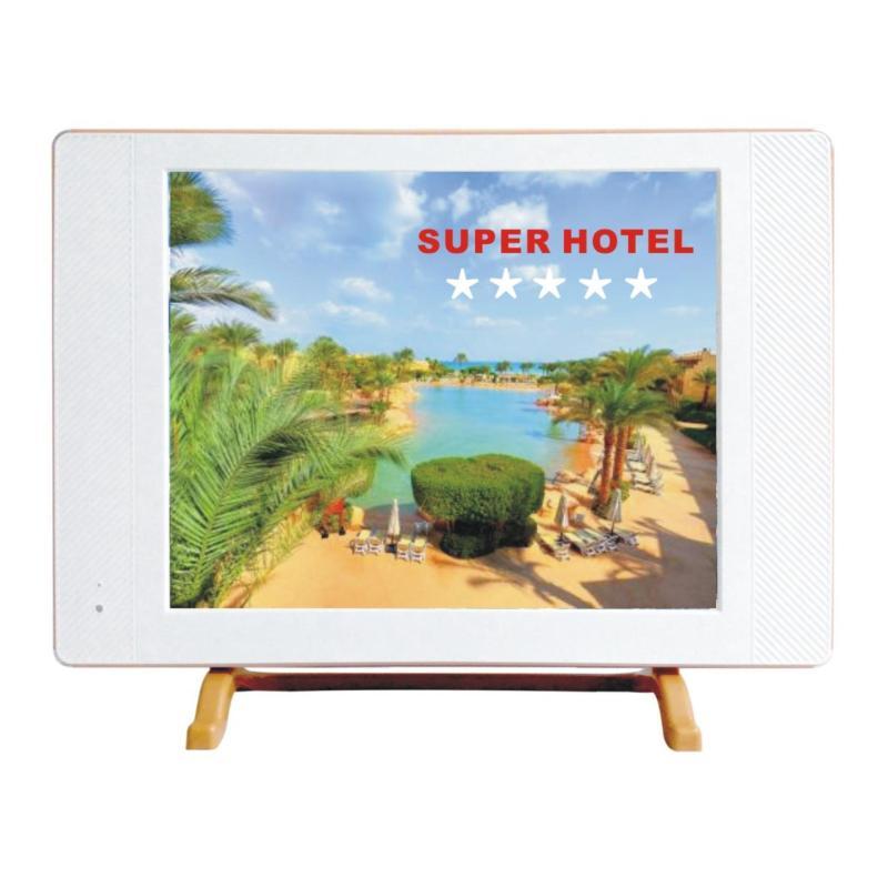 LED HOTEL TV CMM 17 inch Slim VGA HDMI USB Kiosk Movie Logo boot kustom