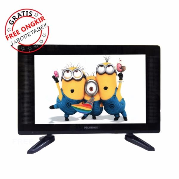 LED TV 19 inch Polysonic PS1892 Wide - Free Ongkir JABODETABEK
