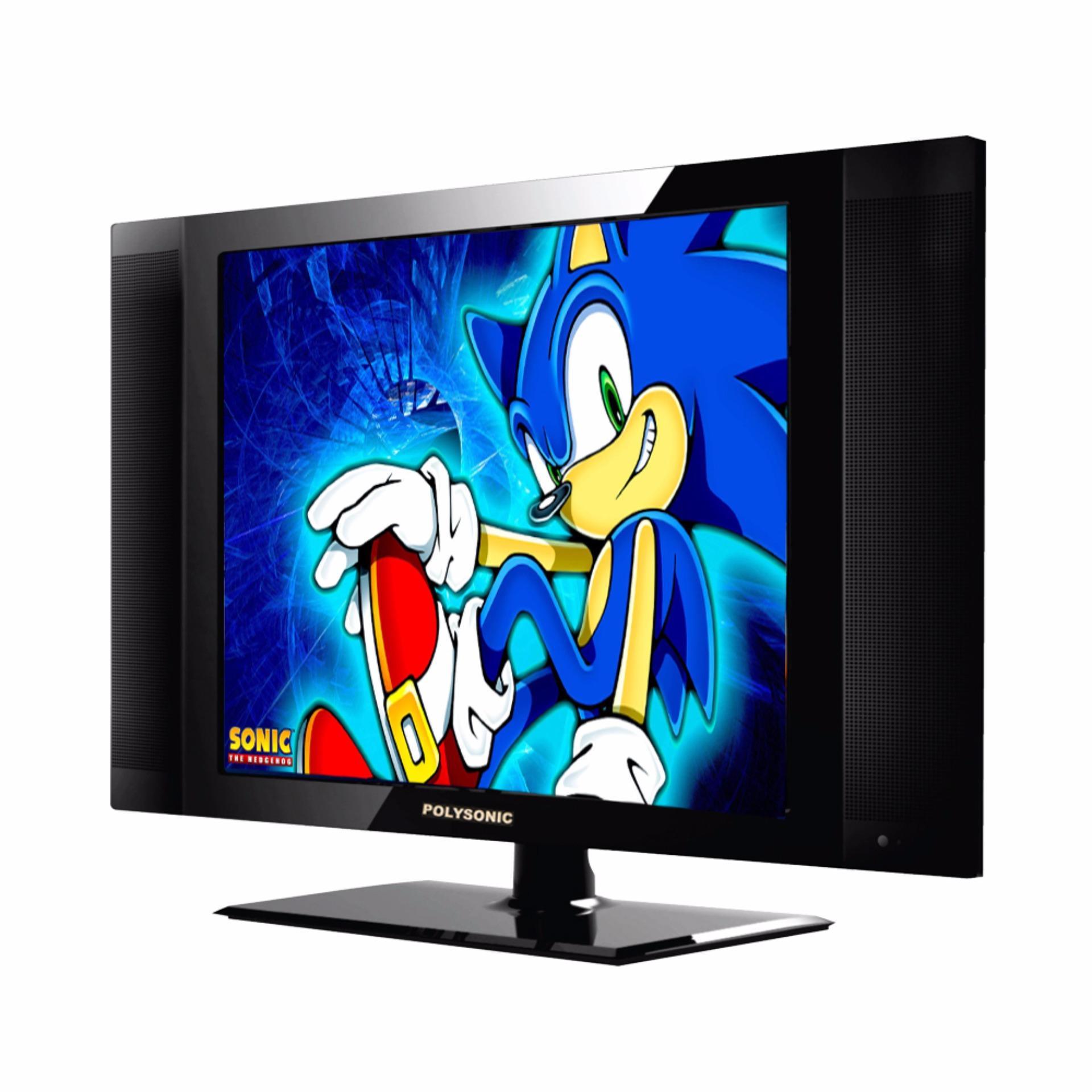 LED TV 19 inch Polysonic PS1892i - Hitam