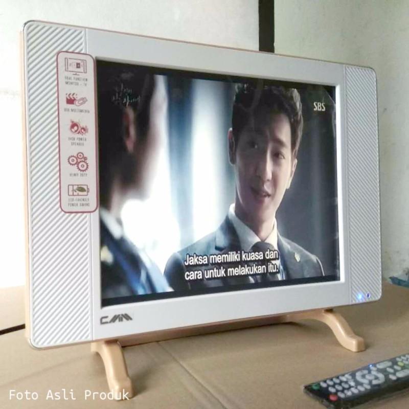 LED TV CMM 17inch Slim Fitur Lengkap VGA USB Movie Multimedia HDMI Murah