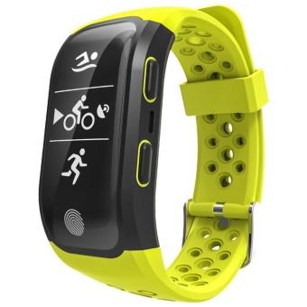 ... leegoal S908 GPS Smart Bands With Heart Rate Sleep Monitor Sedentary Reminder Pedometer IP68 Waterproof Fitness ...