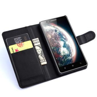 Lenovo a536/a536 timbul dompet gaya lengan pelindung shell telepon