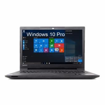 Lenovo V110-15ISK Laptop Intel Core I3-6100U RAM 4GB HDD 500GB Windows 10 PRO Ori Promo Murah Gaming Layar 15 inch Slim Black