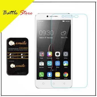 Lenovo Vibe C A2020 Smile Screen Protector Tempered Glass / Anti Gores Kaca - White Clear