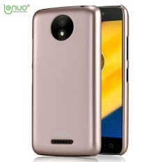 Lenuo Fashion PC Plastik Keras Cover Case untuk Motorola MOTO C PLUS Ponsel Shell Case-Internasional