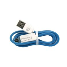 Lexcron Kabel USB Micro Jelly Round LXD 004 Fast charger Biru .
