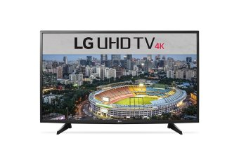 LG 49 Inch UHD 4K Flat Smart LED Digital TV 49UH610T - Khusus Area Jadetabek