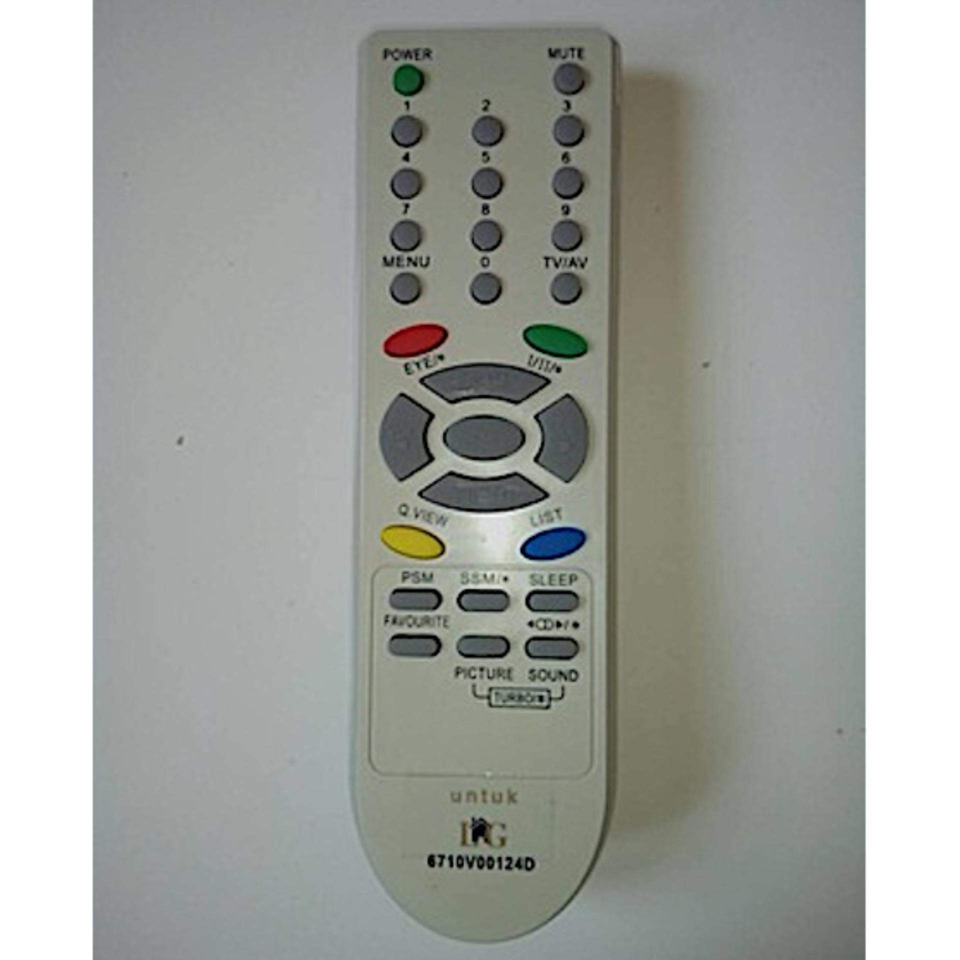 Cheap online LG Remote TV Tabung 6710V00124D - Putih