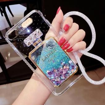 Liquid Quicksand Glitter Case For OPPO R9s Plus/ OPPO F3 Plus Soft TPU LED Flash