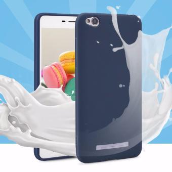 Lize Jelly Case Xiaomi Redmi 4A Candy Rubber Skin Soft Back Case / Softshell / Silicone Xiaomi Redmi 4A / Jelly Case / Ultrathin / Case Xiaomi / Casing Hp - Navy / Biru Tua