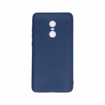 Lize Xiaomi Redmi Note 4 Softshell / Soft Case / Jelly Case / SoftBack Case / Silicone / Silicon / Silikon / Case Xiaomi / Case HP /Casing Handphone Xiaomi Redmi Note 4 - Biru Tua