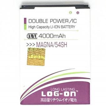 LOG-ON Battery For LG MAGNA / BL-54SH 4000mAh - Double Power &IC Battery - Garansi 6 Bulan