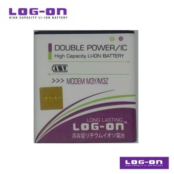 LOG-ON Battery Untuk Andromax M3Y / M3Z Modem - Double Power & IC -