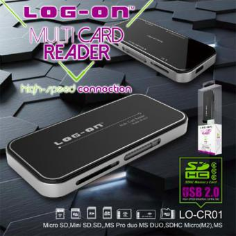 Log ON Multi Card Reader USB 20 7in1 LO CR01