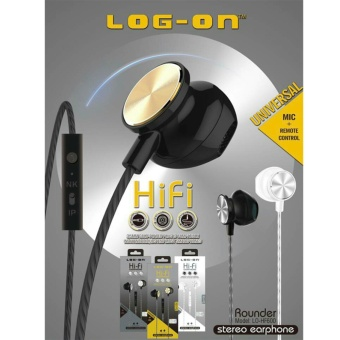 Log On Rounder HiFi Handsfree Earphone Headphone Headset LO-HF-600