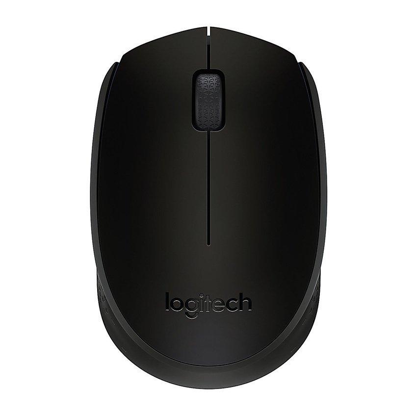 Logitech B170 Wireless Mouse - Hitam