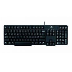Logitech Classic Keyboard K100 - Hitam