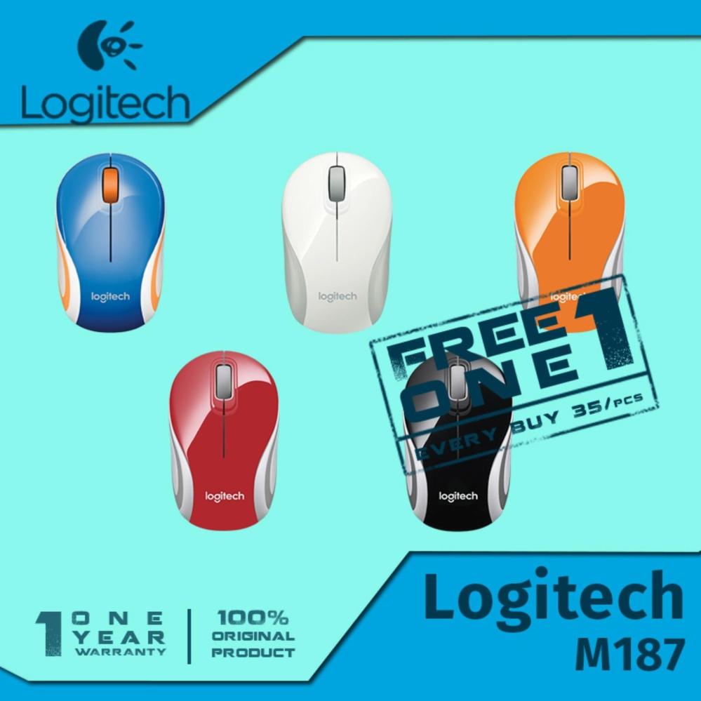Pelacakan Harga Logitech M187 Wireless Mini Mouse Hitam Pencari M187original