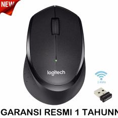 Logitech M331 Silent Plus Wireless Mouse - Hitam  .