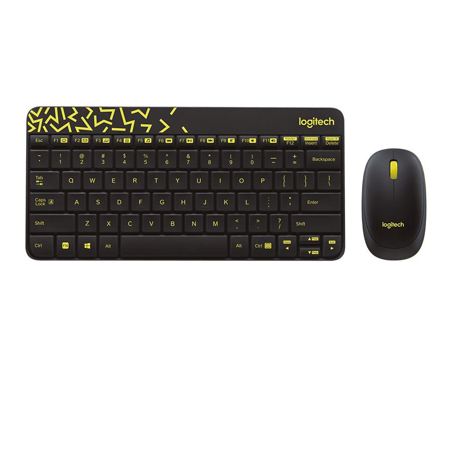 Anggaran Terbaik Logitech Mk240 Nano Wireless Keyboard And Mouse M238 Party Collection Toucan Combo Black
