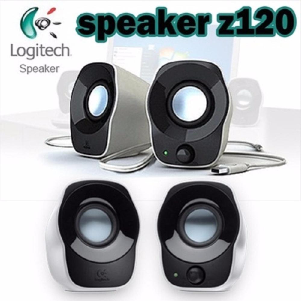 Harga Terendah Logitech Z120 Stereo Speaker Putih Bandingkan Simpan Speakers