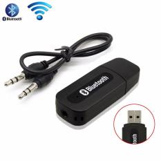 Lucky Bluetooth Audio Receiver Adapter Music For Speaker 3.5mm Stereo - Hitam