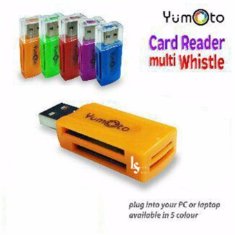 Lucky - Card Reader USB All In One - 4 Slot Model Flashdisk Putar
