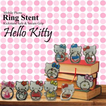 Lucky i-Ring Mobile Phone Ring Stent - Hello Kitty - 1Pcs