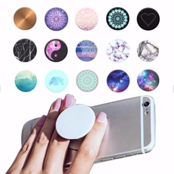 Lucky - iRing Pop Socket Phone Holder Expanding Stand and Grip for Smartphones Tablets - Beli 1 Gratis 1